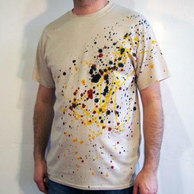 Pieskové Streetart tričko #8 (veľkosť M)