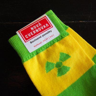 Ponožky Cvernovka rádioaktív