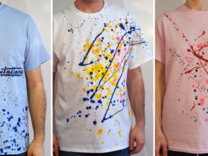 Limitovaná séria streetart tričiek z dielne ArtAttack