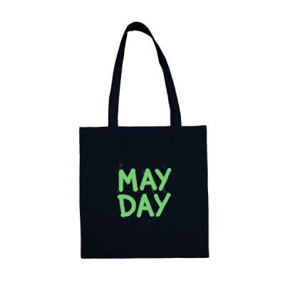 Tmavo modrá plátená taška May Day Cvernovka