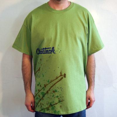 Zelené Streetart tričko #2 (veľkosť XL)