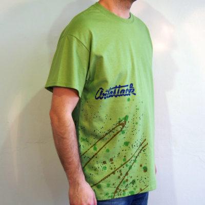 Zelené Streetart tričko #5 (veľkosť L)