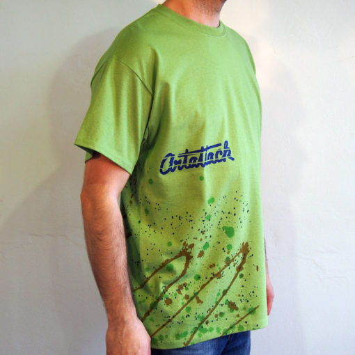 Zelené Streetart tričko #7 (veľkosť L)