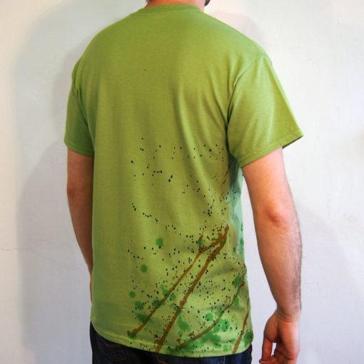 Zelené Streetart tričko #8 (veľkosť M)