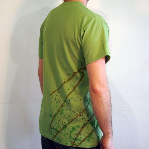 Zelené Streetart tričko #9 (veľkosť M)
