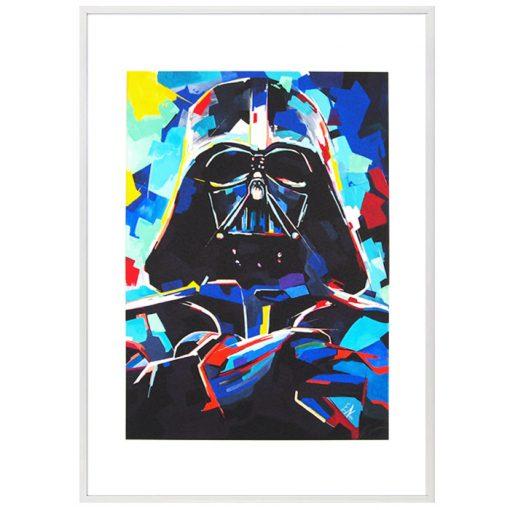 Darth Vader #1, grafika A2 / fine art print