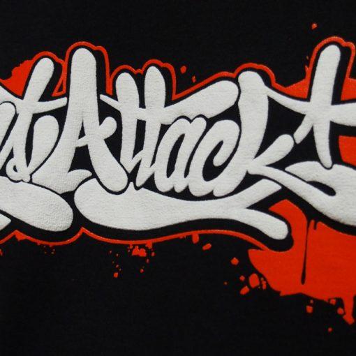 Čierne tričko ArtAttack - Tag by Dias