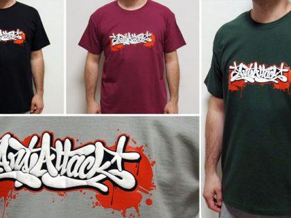 Legendárne tričko s graffiti dizajnom ArtAttack