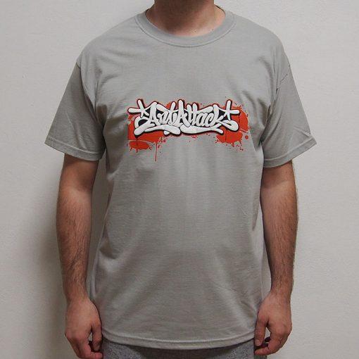 Sivé tričko ArtAttack - Tag by Dias