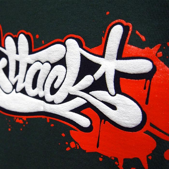 05c7a6d86133 Zelené tričko ArtAttack Dias - ArtAttack Shop
