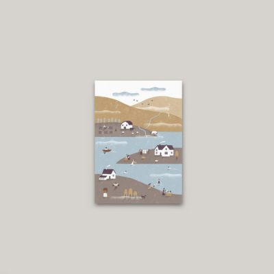 Na dedine - plagátik / obrázok A4