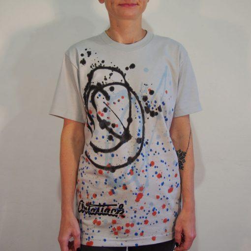 Sivé Streetart tričko #1 (veľkosť S)