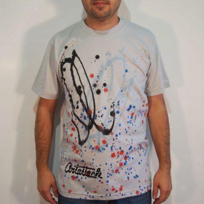 Sivé Streetart tričko #5 (veľkosť M)