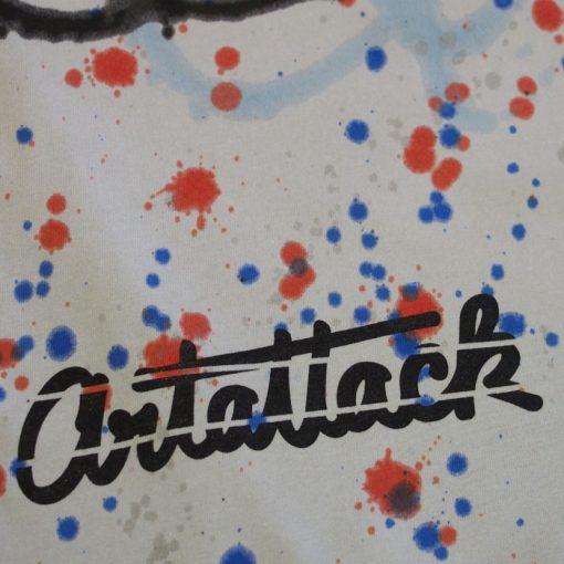 Sivé Streetart tričko #7 (veľkosť L)