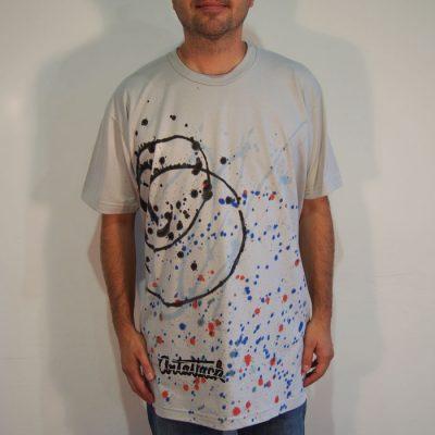 Sivé Streetart tričko #10 (veľkosť XL)