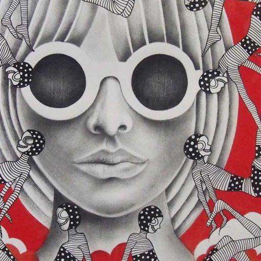 Head in the clouds katarina branisova illustrations grafika