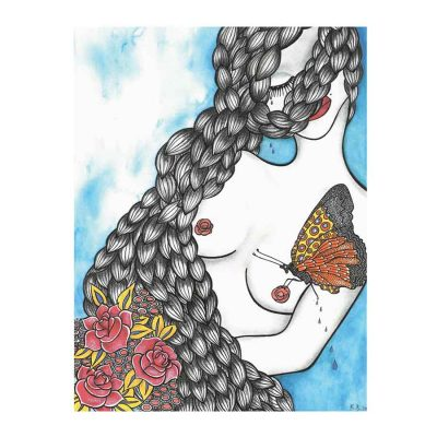 Kiss of the butterfly katarina branisova illustrations grafika
