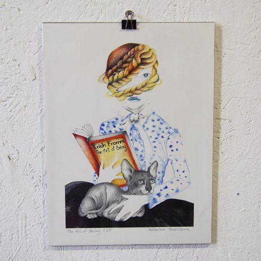 art od being katarina branisova illustrations grafika1