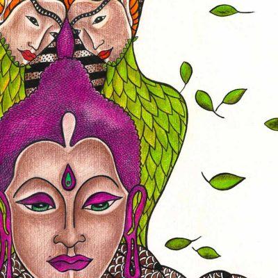 clarity through meditation katarina branisova illustrations grafika
