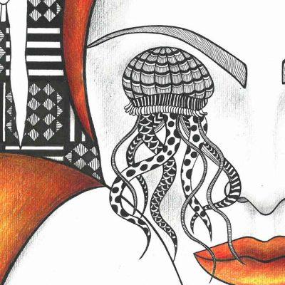 faith through acceptance katarina branisova illustrations grafika