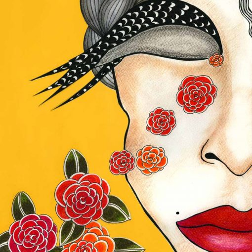 roses are red katarina branisova illustrations grafika
