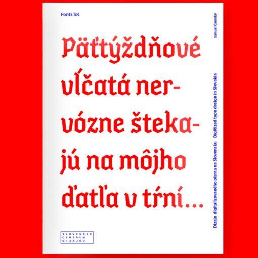 Fonts SK - Samuel Čarnoký / kniha