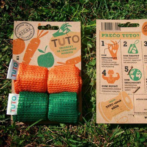 Tuto Eko sáčky - zelený/oranžový