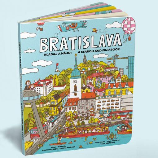 Bratislava hľadaj a nájdi - Martina Kráľová, Zuzana Revúcka / kniha