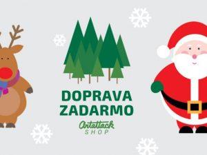 Doprava ZADARMO Vianoce 2018