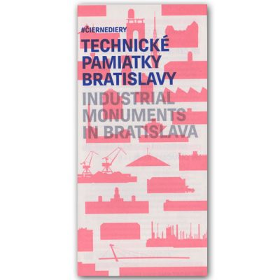 Technické pamiatky Bratislavy - Čierne diery / mapa
