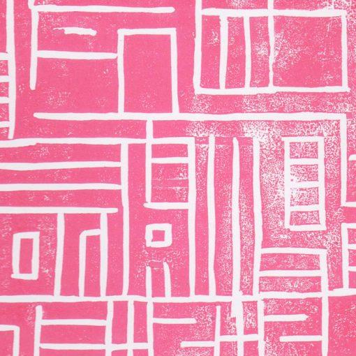 Labyrint - Martin Malina linorytová grafika 35 x 25cm