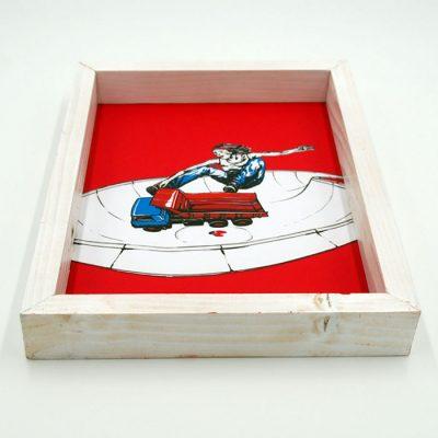 Tatra Flip - Pangea Boards / grafika v ráme