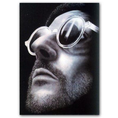 Abstraktné Stavy pohľadnica - Jean Reno