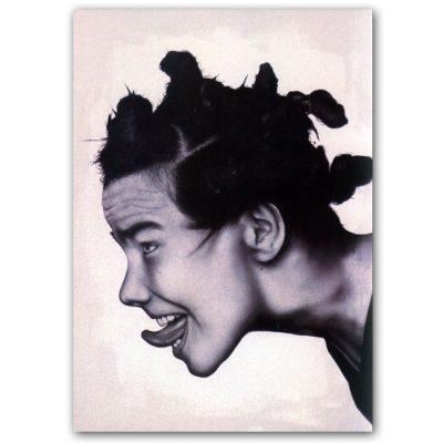 Abstraktné Stavy pohľadnica - Björk