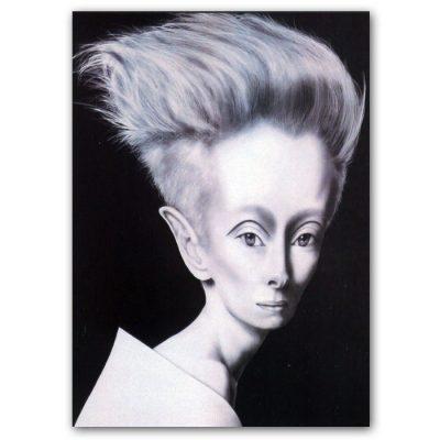 Abstraktné Stavy pohľadnica - Tilda