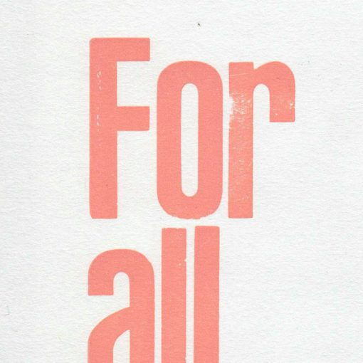 For all women kind - grafika Pressink