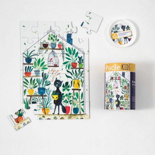 Pucle KIDS – Kocúr botanikom