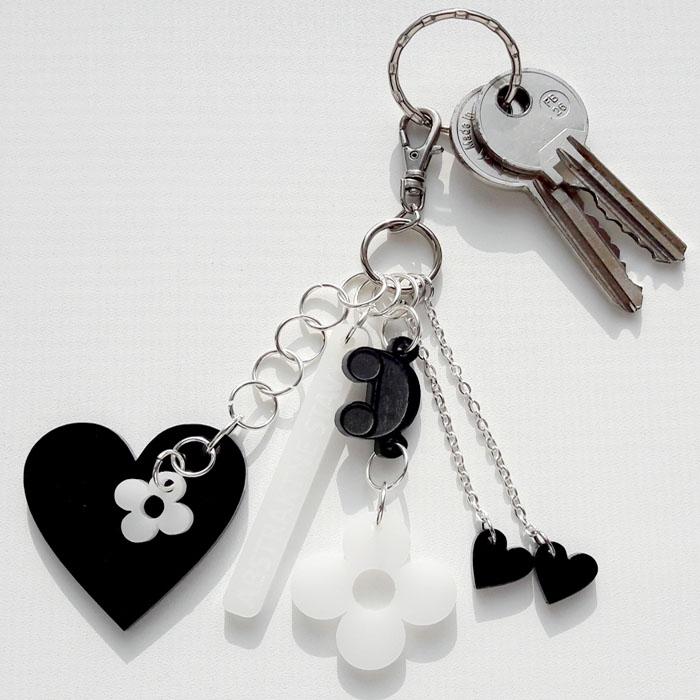 Kľúčenka Abstraktné stavy - ArtAttack Shop ff96f463e0a