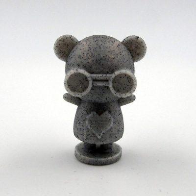 Maskot - sivý melír / Abstraktné stavy