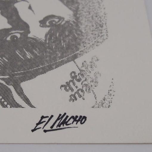 Podlaseba - El Macho - sivá / grafika