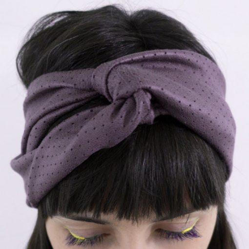 Čelenka - fialová / Bartinki