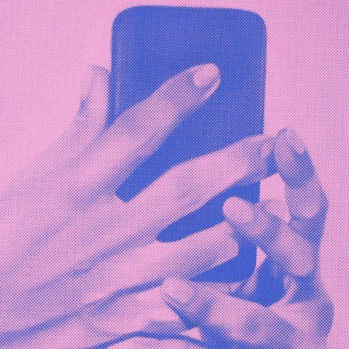 Holy Hands I. - Martina Rötlingová / sieťotlačová grafika