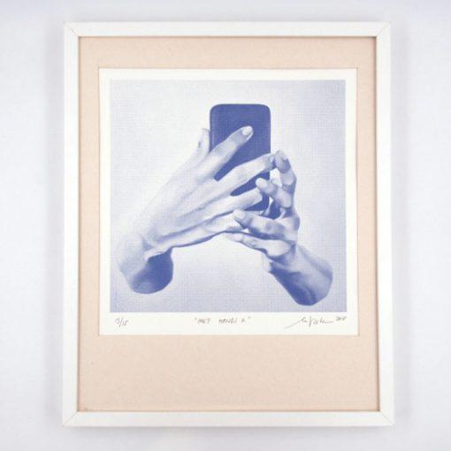 Holy Hands II. - Martina Rötlingová / sieťotlačová grafika
