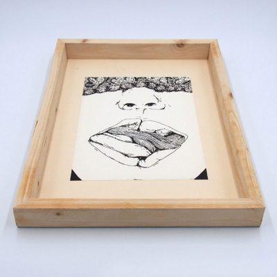Bite my ... - Pangea Boards / grafika v ráme