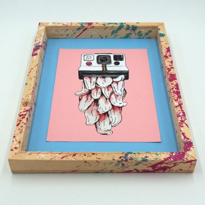 Lick the Moment - Pangea Boards / grafika v ráme