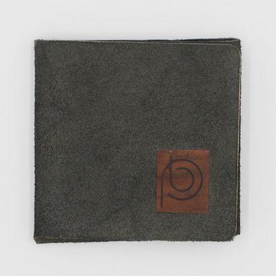 Peňaženka z recyklovanej kože tmavo sivá - Pangea Boards