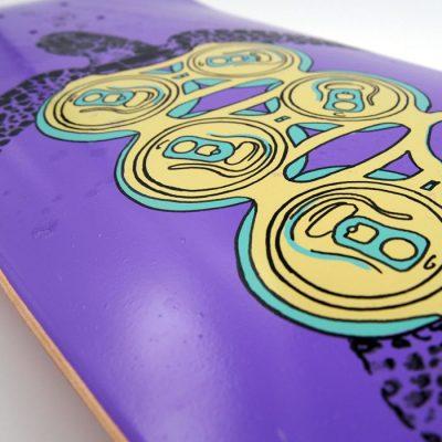Korytnačka / Plody mora - Pangea Boards / grafika na skateboarde