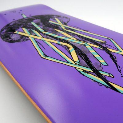 Medúza / Plody mora - Pangea Boards / grafika na skateboarde