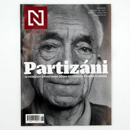 Magazín N: Partizáni - 20 príbehov z povstania / časopis