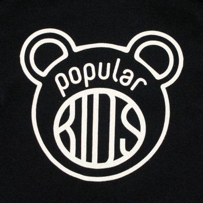 Kids čierne - Popular / detské tričko